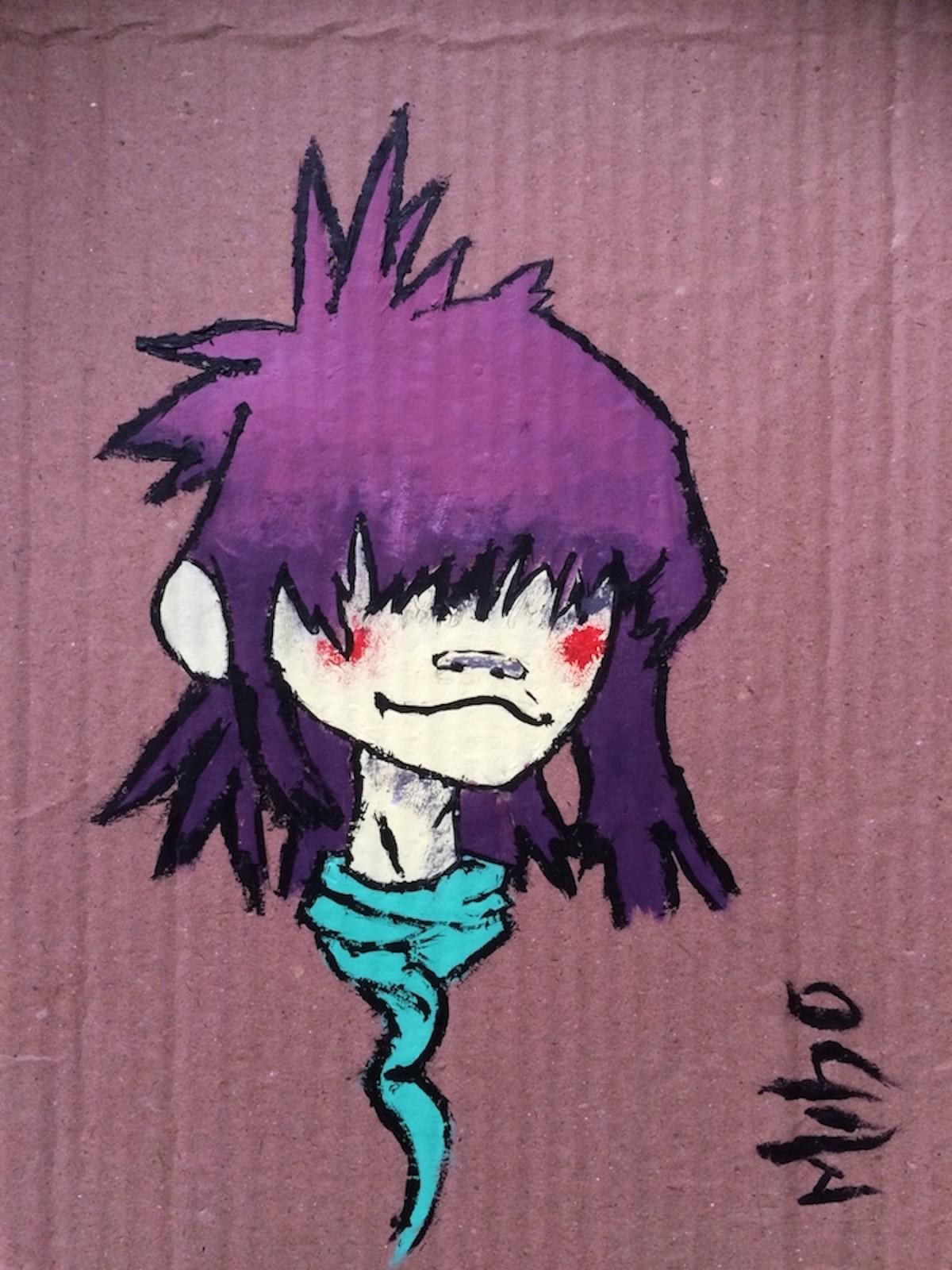 Noodle - Gorillaz (Cardboard)